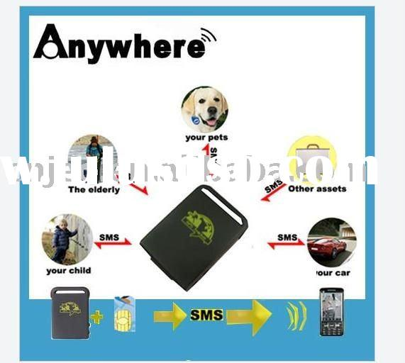 animal GPS tracking with low price TK102 ,WAP-track by PDA cell phone