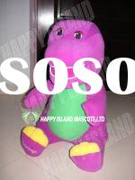 barney / plush and stuffed toy/ cartoon character