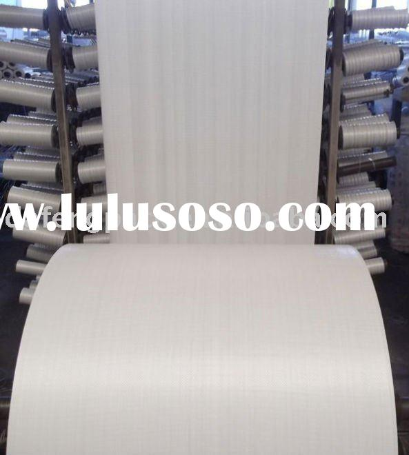 best freight PP woven fabric in tubular roll for rice,sugar,salt,flour,feed,seed Rich venture with g