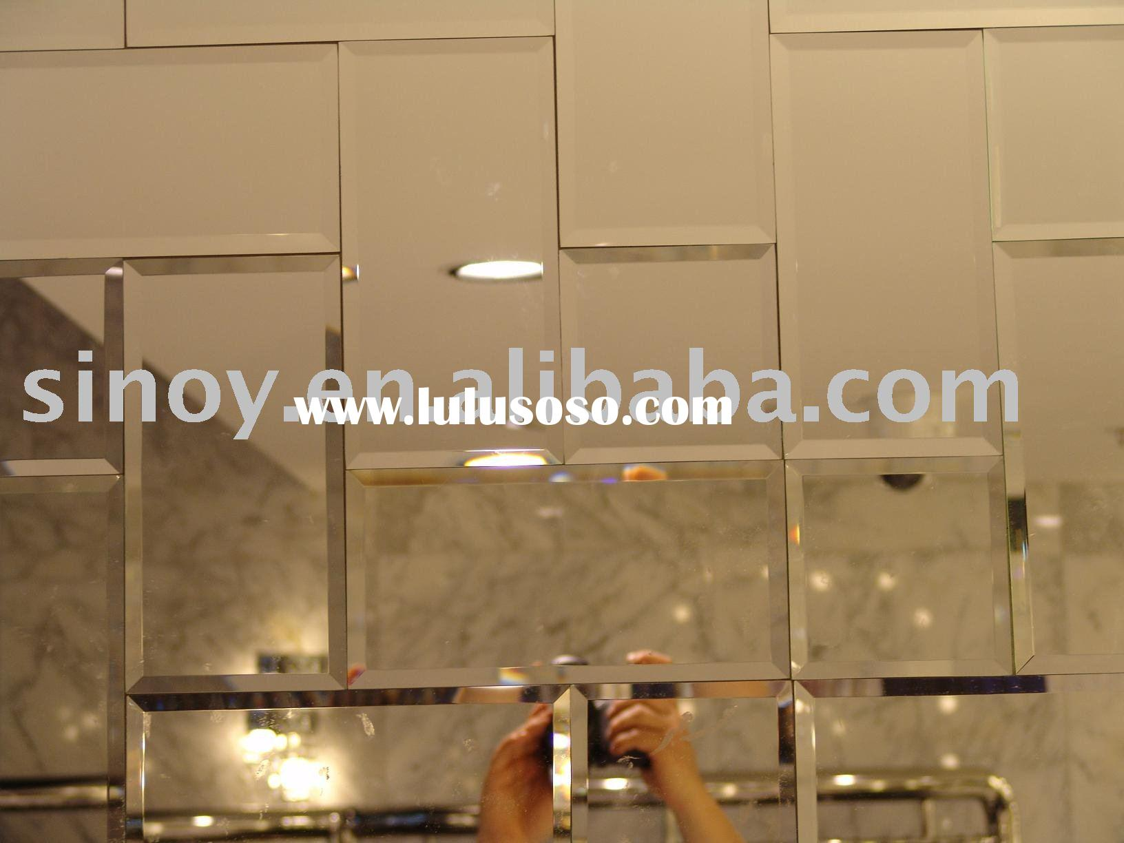 Fashionable Beveled Wall Mirror Tiles For Sale Price
