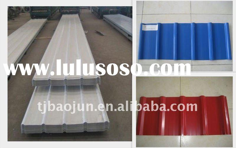 color coated corrugated steel roofing YX26-205-820