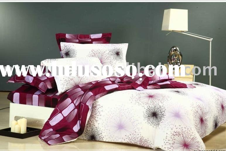 cotton/polyester disperse printing comforter cover bedding set