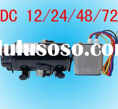 dc brushless motor aircon compressor for car portable airconditioning cab a/c