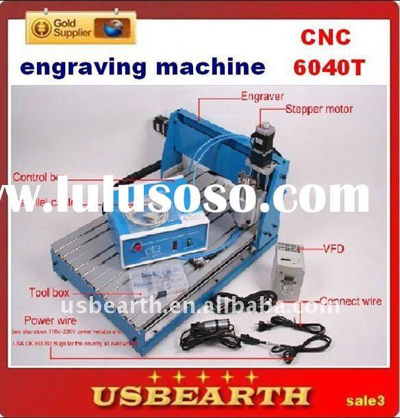 engraving machine CNC 6040, 600*400mm ,router engraver drilling / milling machine with 800W spindle