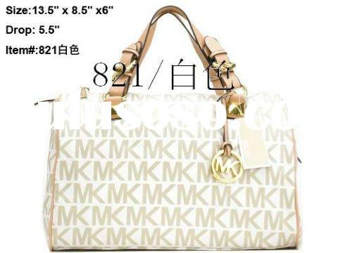 fashion Michael Kors Grayson Large Logo Satchel bags, designer leather MK handbags
