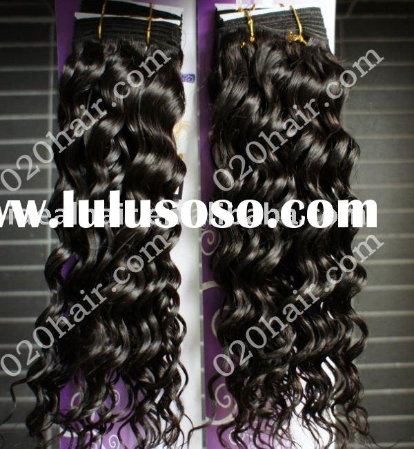 fashion curly brazilian remy tape hair weft