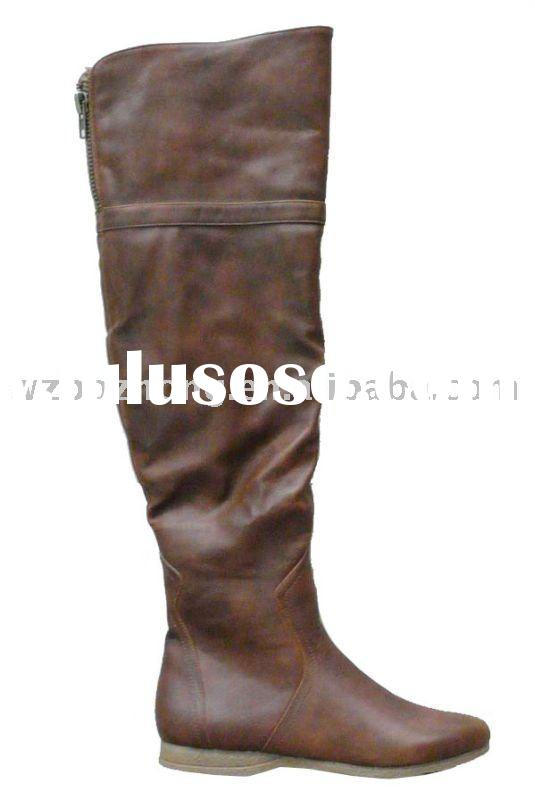 fashion winter top quality cheap price lady boots