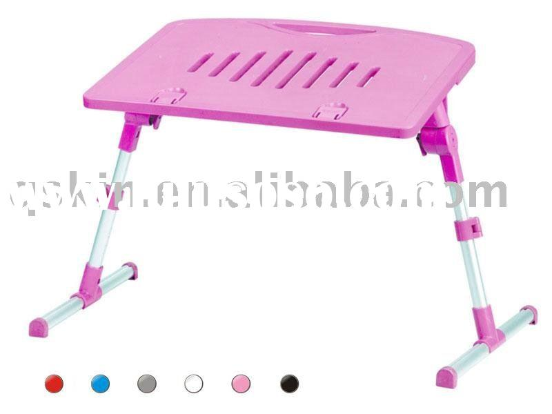 foldable ABS laptop desk with cooling fan