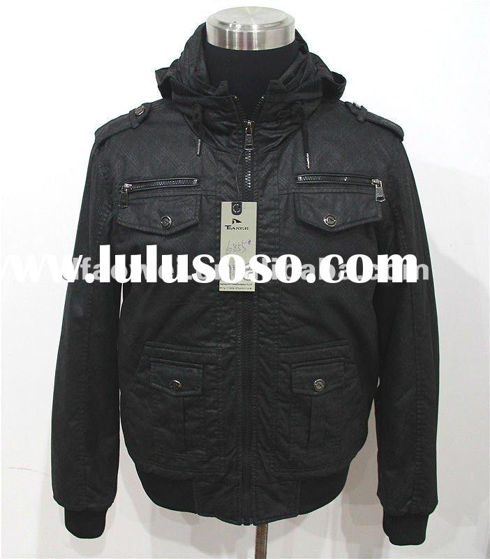 good quality cotton jackets for men(OEM service)