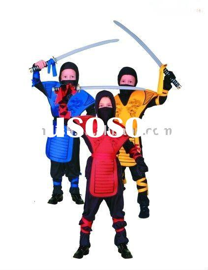 halloween children samurai Ninja fancy dress costumes MAC-0247