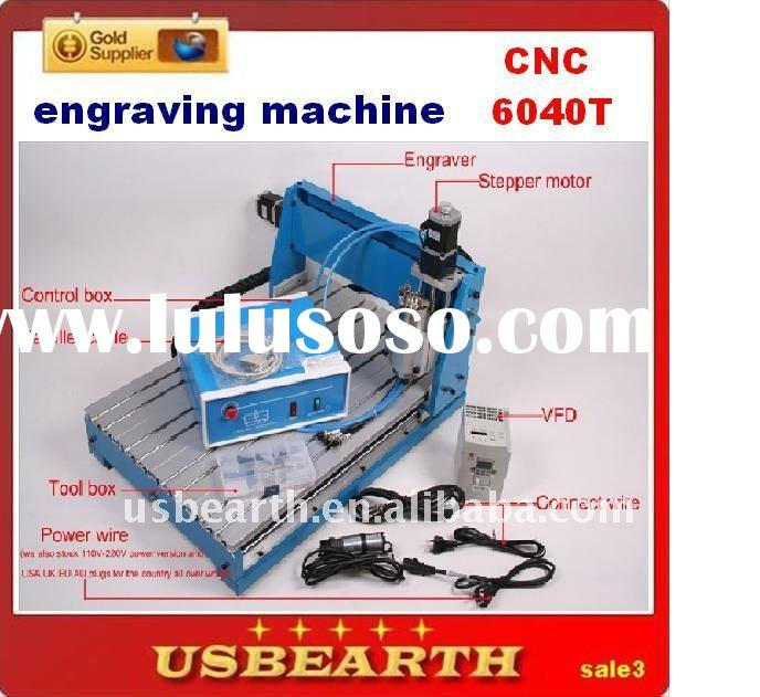 home- CNC 6040 engraving machine , router engraver drilling / milling machine with 800W spindle and