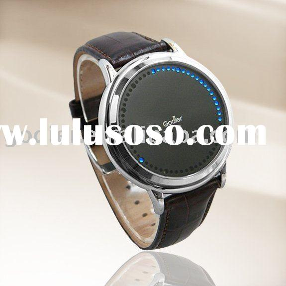 hongkong Godier watches,LED Watch,wholesale price,factory supply,accept paypal