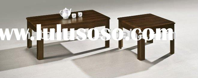 modern design wooden coffee table