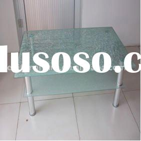 modern tempered glass coffee table CT-3165