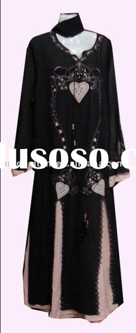 muslim clothing,islamic wear,muslim abaya AB135