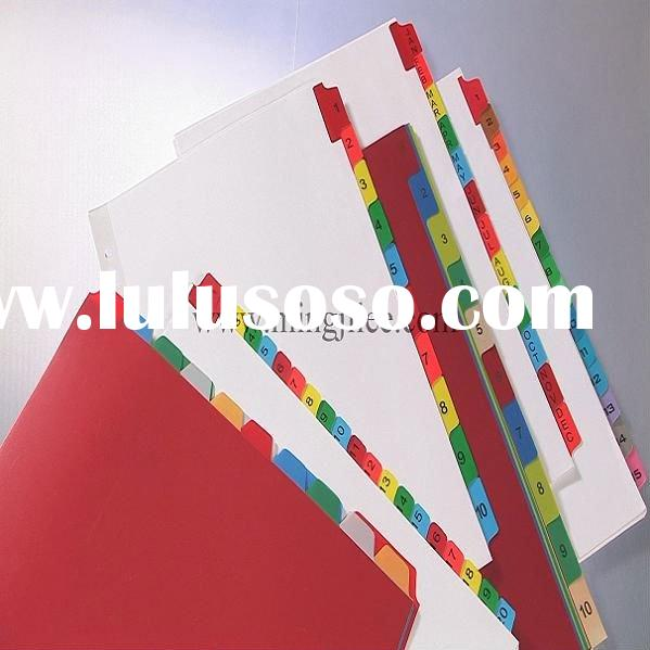 mylar divider making machine/file cover/file machine/office file/stationery file/paper dividers