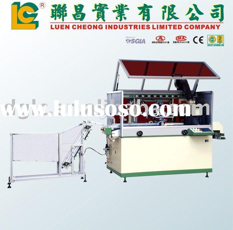 one Color Full Auto Screen Printing Machine for Plastic Bottle