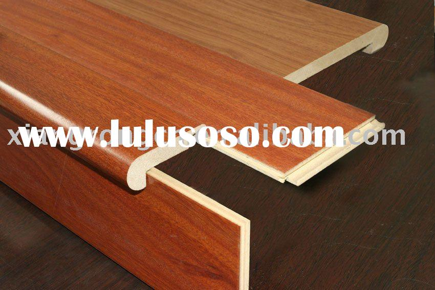 overlap stair nose used for laminate flooring 55*18