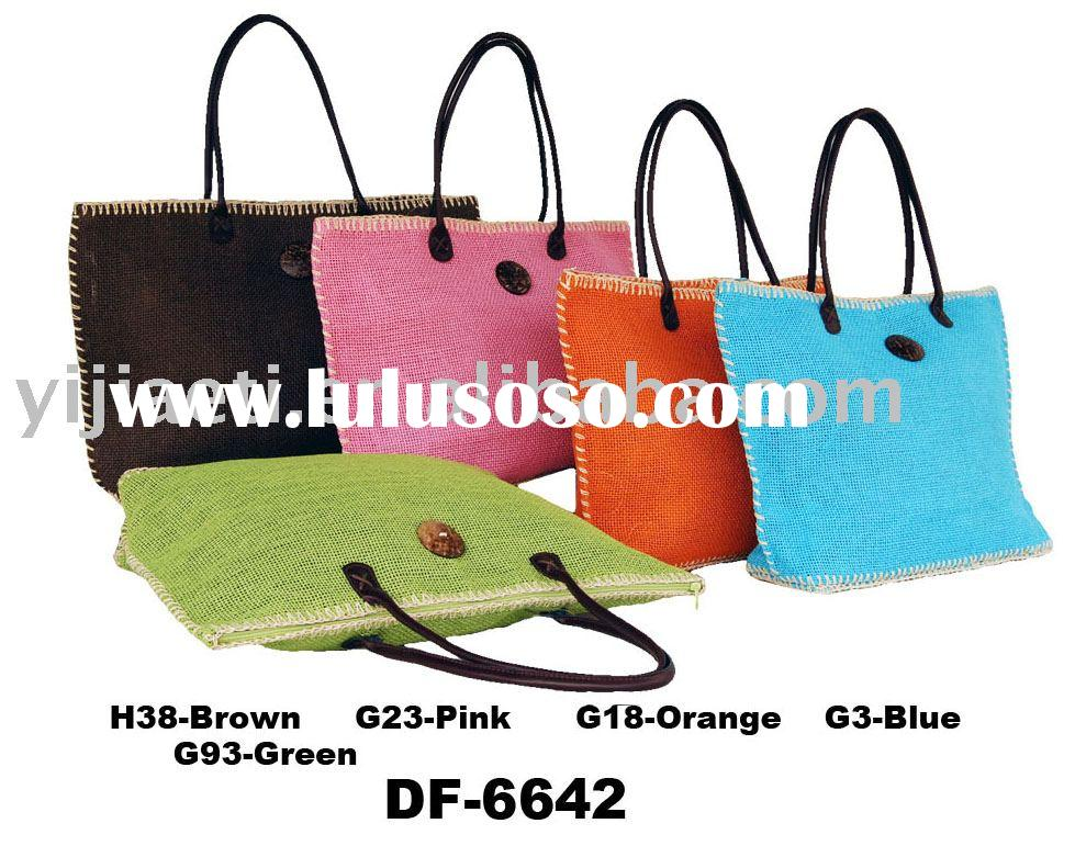 paper straw promotional shopping bag