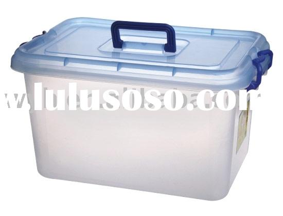 plastic box, box, storage box, handle box