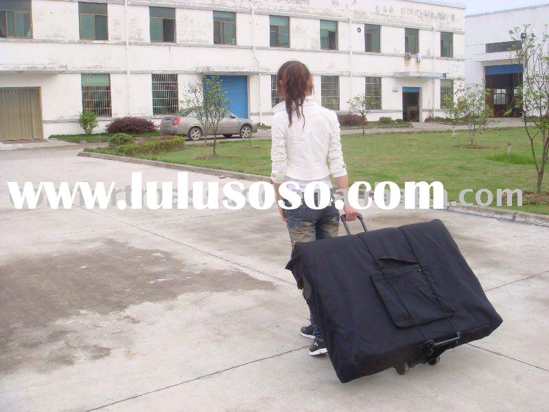 plastic trolley for portable massage table,massage bed