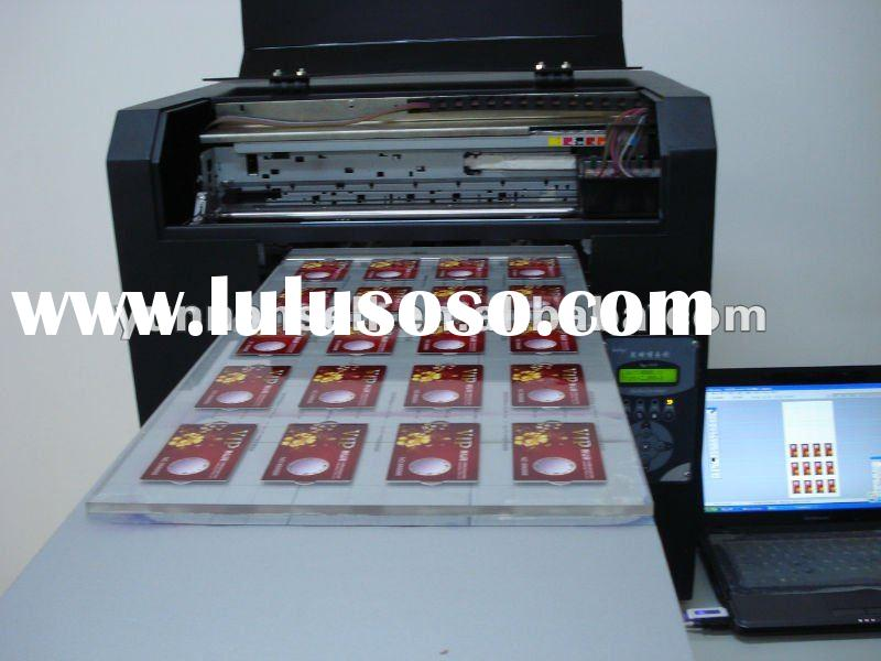 Plastic Name Card Printing Machine For Sale Price China