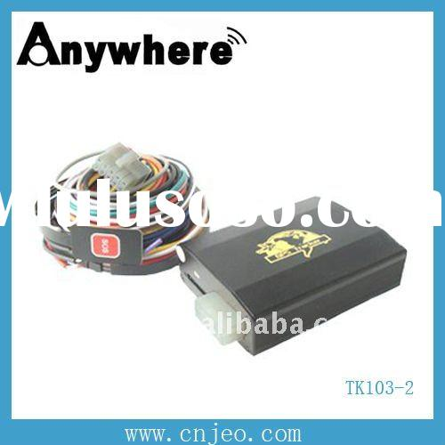 real time tracking and remote control tracking car /vehicle anti theft gps tracker