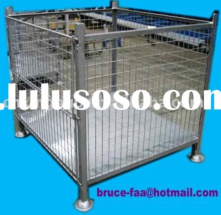 stackable steel mesh stillage/container/cage