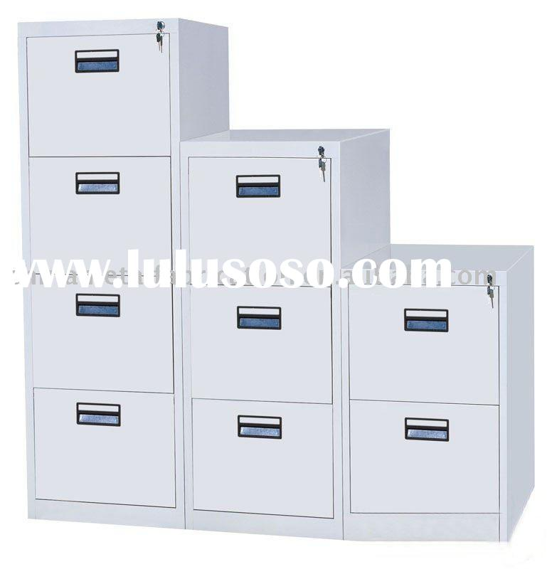 stainless steel office file cabinet