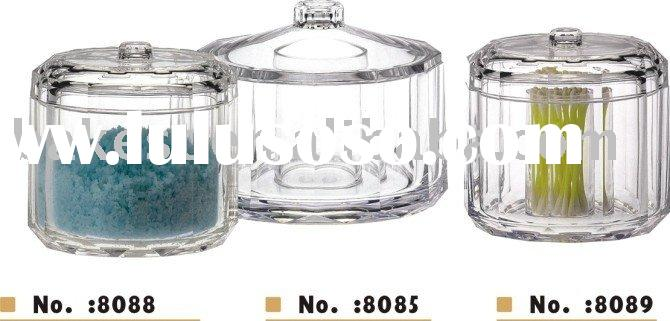 storage jars-Acrylic(AS)-Big Size Candy Jar/Candy Container/Candy Box-Bakest-8085#