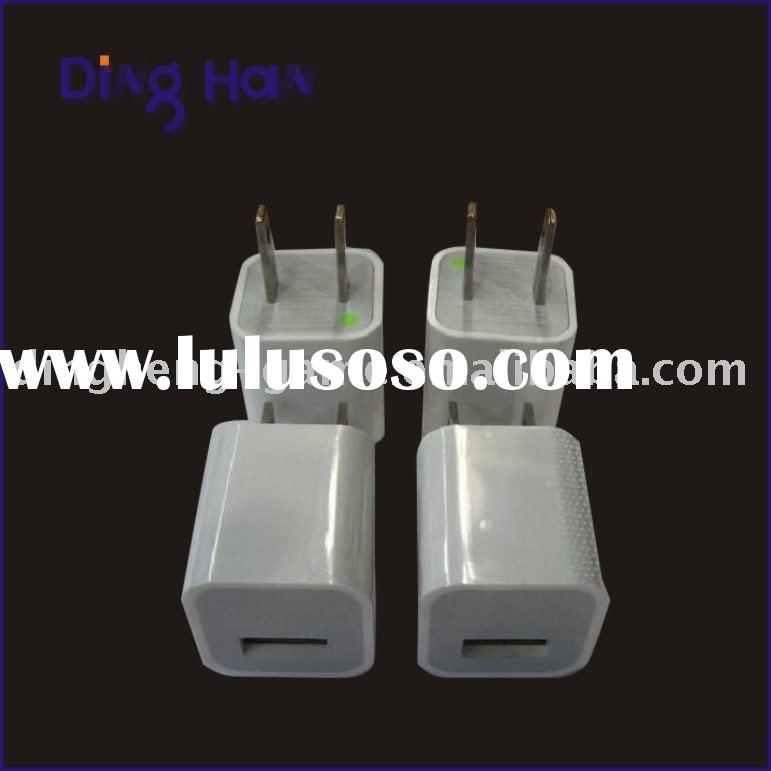 usb ac power supply adapter wall charger for ipod iphone3g iphone 3gs