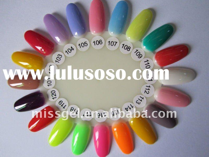 uv gel nail machine soak off colors