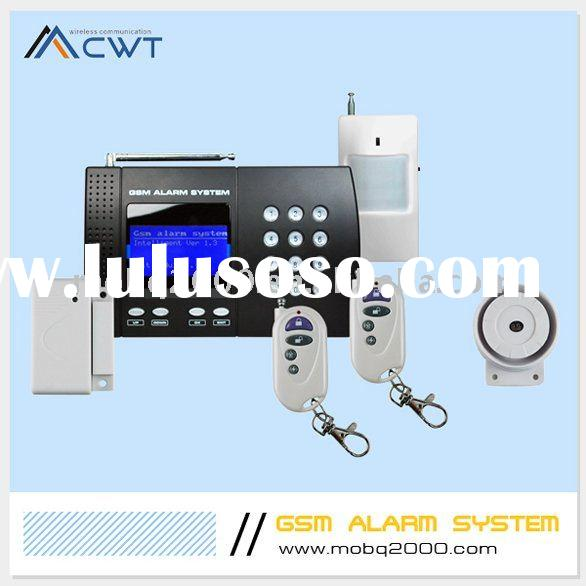 wireless GSM home security system