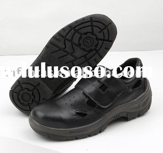 woman safety work shoes
