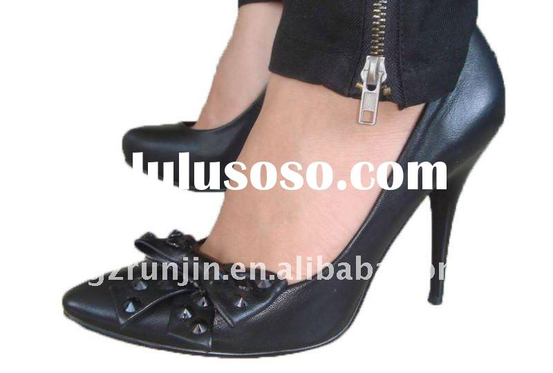 women dress shoes with fashion accessory ,competitiver price! good quality!