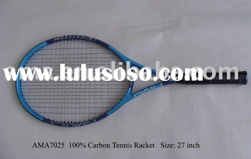 100% Carbon Tennis Racket