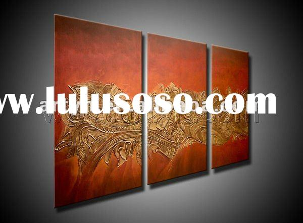 100 hand painted oil paintings for wall