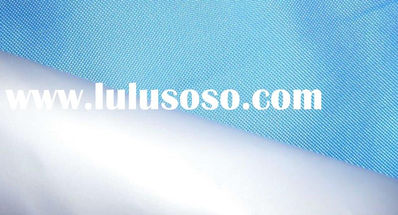 100% polyester oxford fabric with PVC coated waterproof tarpaulin for shelter canopy
