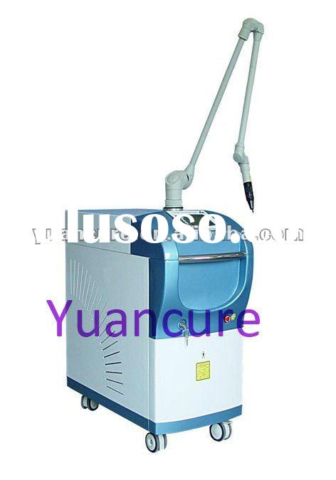 1064nm q switched yag laser wart removal machine for beauty clinics
