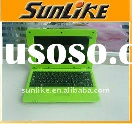"10.2"" inch laptop VIA8650 800MHz 256RAM/2G WIN CE 6.0/android 2.2/notebook computer/laptop note"