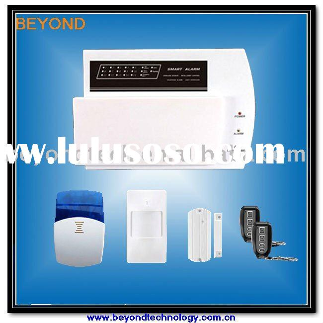 Self monitoring wireless alarm system for home security for Self security system