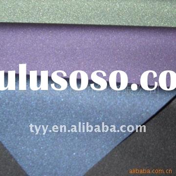190T polyester pongee PU silver coated umbrella fabric ISO9001