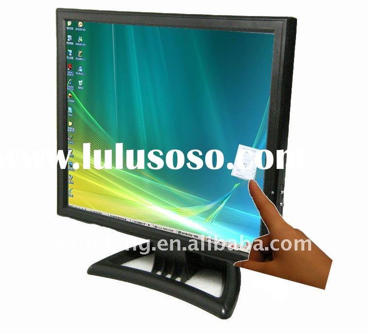 "1 year warranty! 17"" LCD computer monitor with Touch"