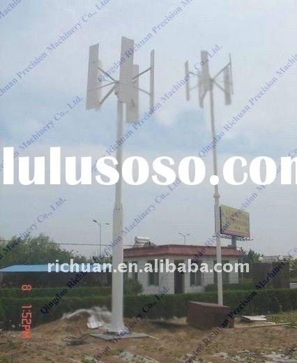 1kw vertical axis home wind power generator wind power system Light pole wind turbine vertical farmi