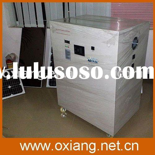 2010 solar home larger generator system take with aircondition