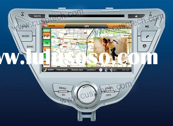 2011 HYUNDAI ELANTRA CAR DVD PLAYER WITH GPS