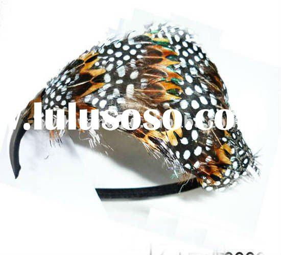 2011 New Fashion star Feather Hair Accessories