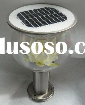 2011 Newest Product Solar Light For Outdoor Garden