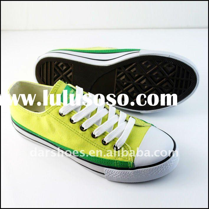 2011 Newest style canvas shoes women