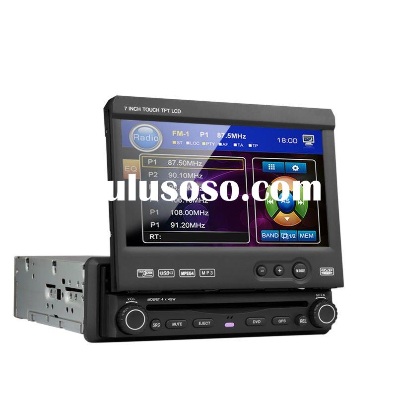 2011 hot sell 1 DIN 7'' touch screen car cd dvd with GPS